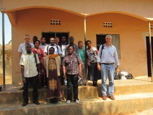 UGANDA – National Platform Steering Committee visiting Luwero District Coffee Show (2017) #5478